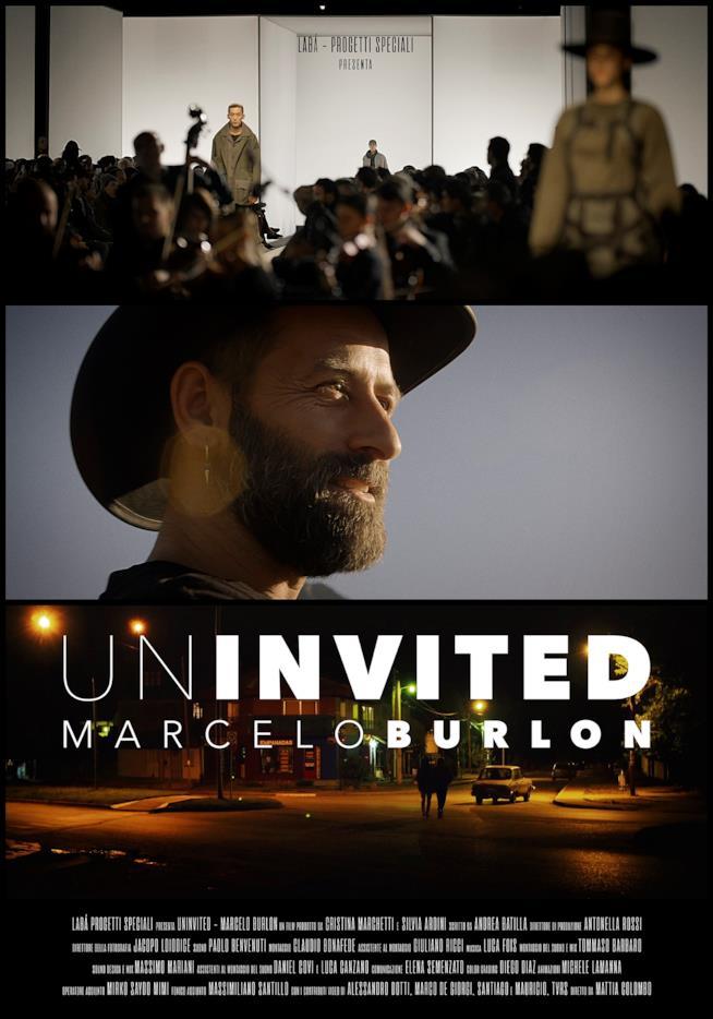 LOCANDINA Uninvited – Marcelo Burlon
