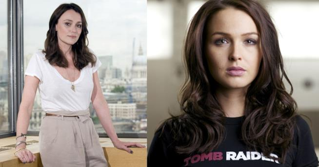 Keeley Hawes e Camilla Luddington, voci di Lara Croft