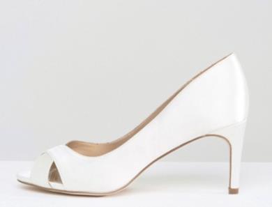 Scarpe con tacco medio da sposa