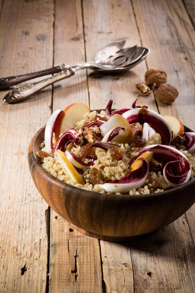 Ciotola di cereali e verdura