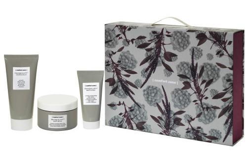 Il kit Tranquillity di Comfort Zone: crema mani, bagnodoccia e crema corpo