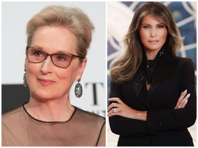 Meryl Streep e Melania Trump