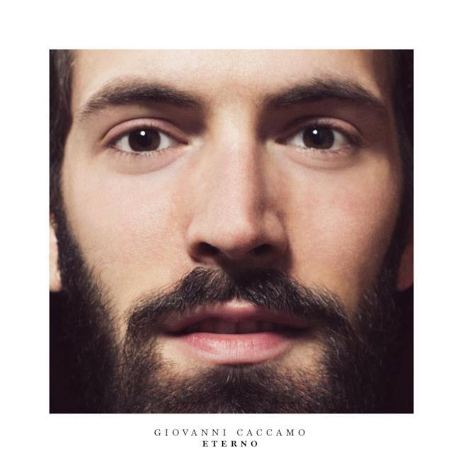 La copertina di Eterno, nuovo album di Giovanni Caccamo
