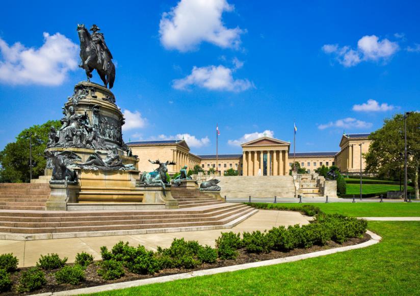Il museo di Philadelphia, celebre anche per il film Rocky