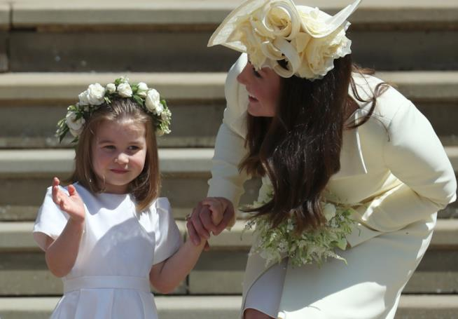 Charlotte e Kate Middleton
