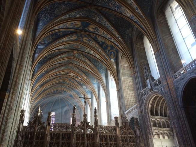 Interni della Cattedrale di Santa Cecilia