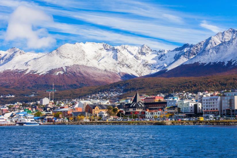 Vista di Ushuaia