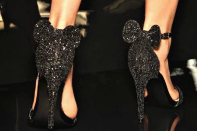 I sandali Minnie neri Primark