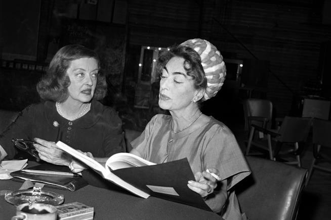 Bette Davis e Joan