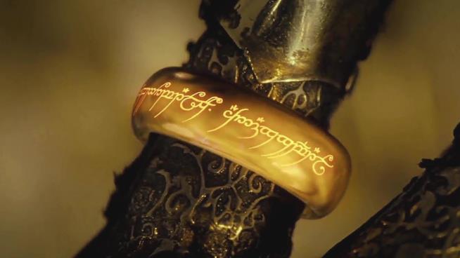 Una scena de Il Signore degli anelli