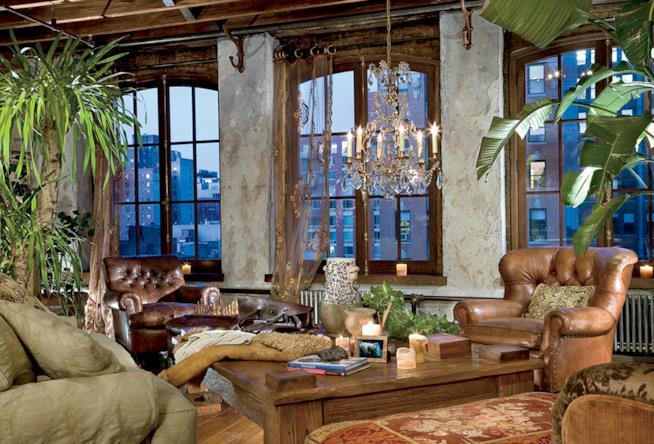 L'open space del duplex loft messo in vendita da Gerard Butler
