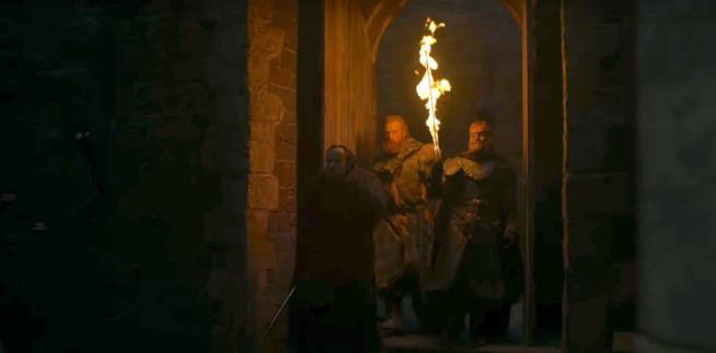 Una scena di Game of Thrones 8