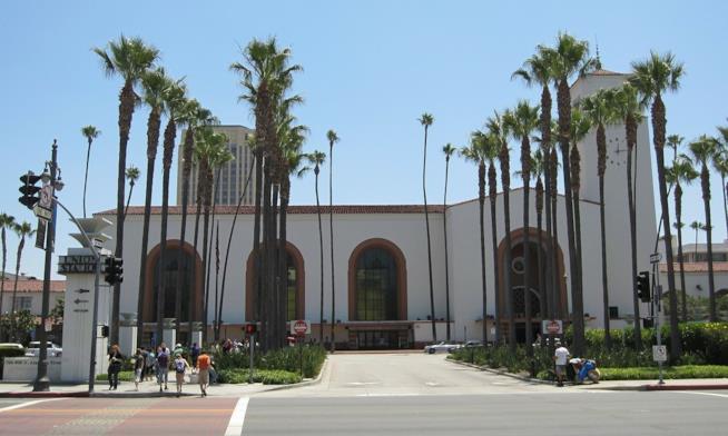La stazione ferroviaria più famosa di L.A.: la Union Station