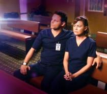 Alex e Meredith insieme in chiesa