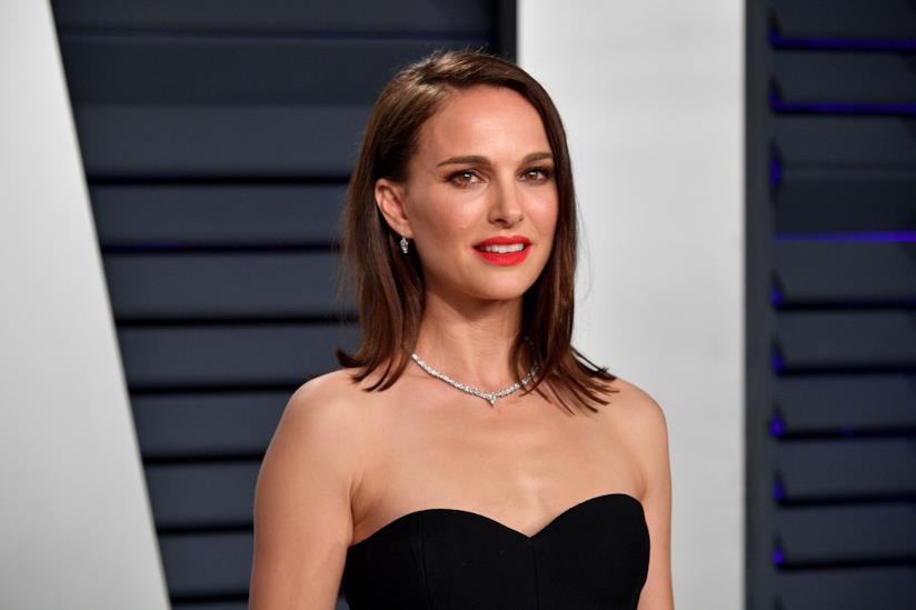 Natalie Portman in primo piano
