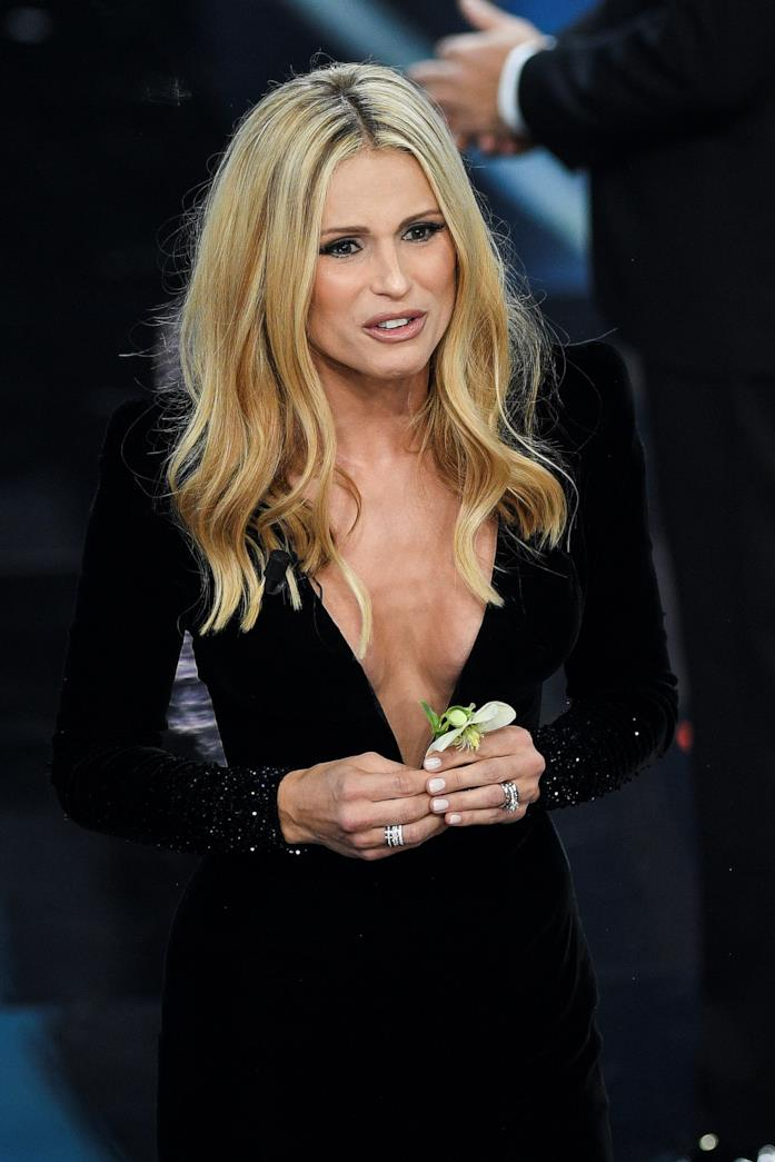 Michelle Hunziker, prima serata di Sanremo 2018