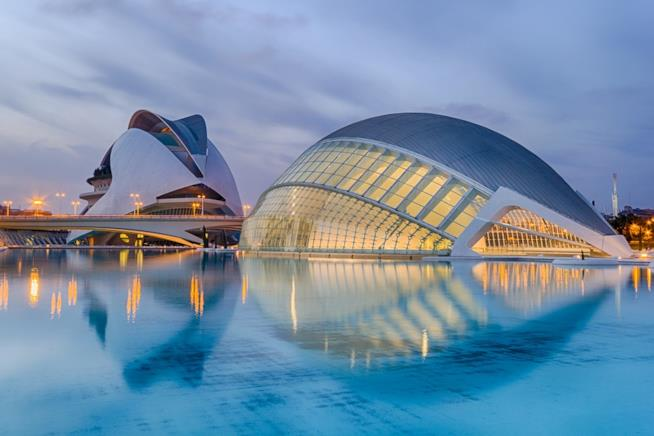 Città delle Arti e delle Scienze a Valencia