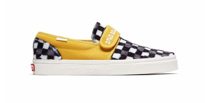 slip on gialle Vans omaggio a David Bowie