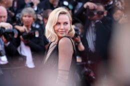 Charlize Theron al Festival di Cannes