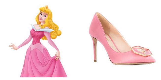 Aurora e le scarpe di Nicholas Kirkwood