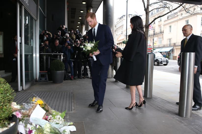 Harry e Meghan alla commemorazione delle vittime della Christchurch