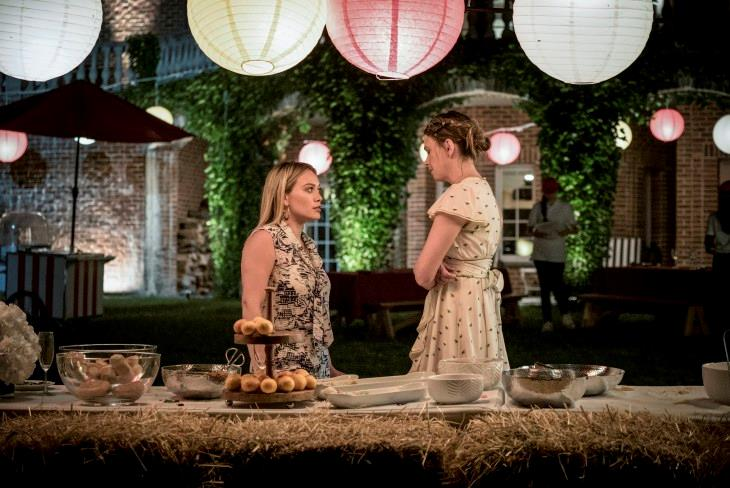 Younger 4: Kelsey e Liza nell'episodio 9