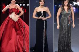 Alcuni degli abiti di Virginia Raffaele a Sanremo 2019