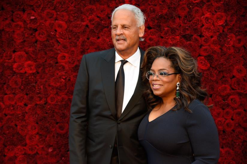 Oprah Winfrey e il compagno Stedman Graham