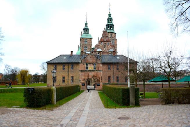 Uno dei palazzi reali di Copenaghen: il castello di Rosenborg