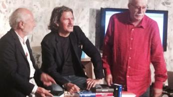 Foto da sinistra: Gino, Nico Colonna, Michele