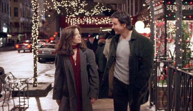 Una scena di Serendipity a New York
