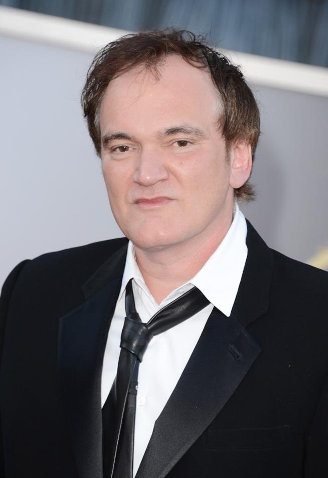 Quentin Tarantino in primo piano