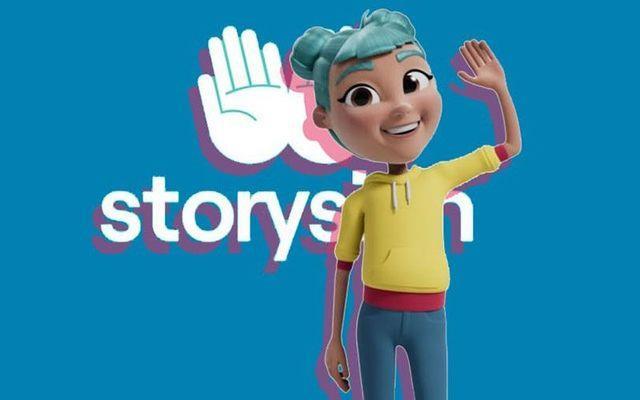 L'avatar Star creato per la app StorySign