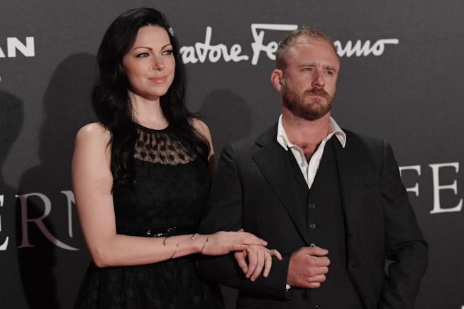 Laura Prepon e Ben Foster durante un evento