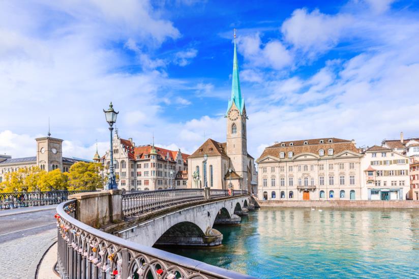 Scorcio di Zurigo