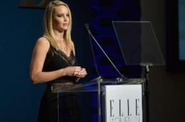 Jennifer Lawrence racconta il suo provino da incubo durante l'evento di Elle