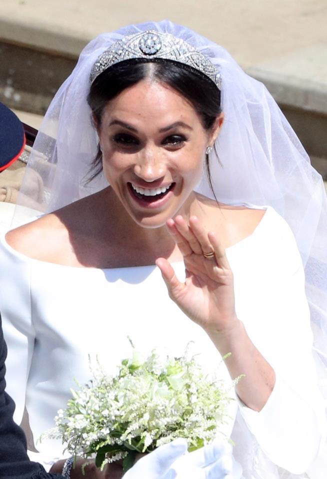 Meghan Markle e la tiara del matrimonio