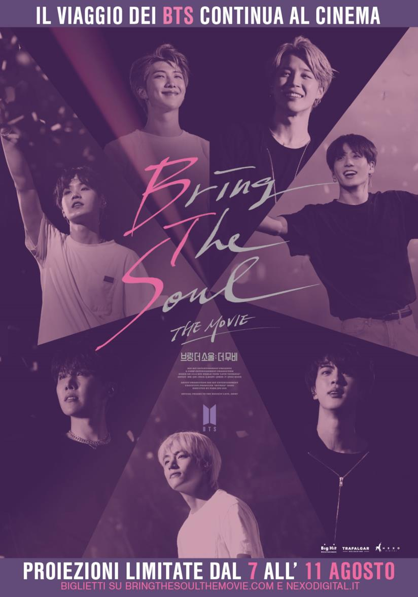 Locandina del film dei BTS Bring The Soul:The Movie