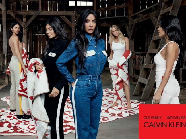 La tuta Calvin Klein indossata da Kim Kardashian