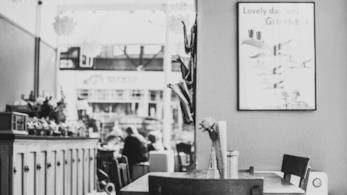 Un coffee shop