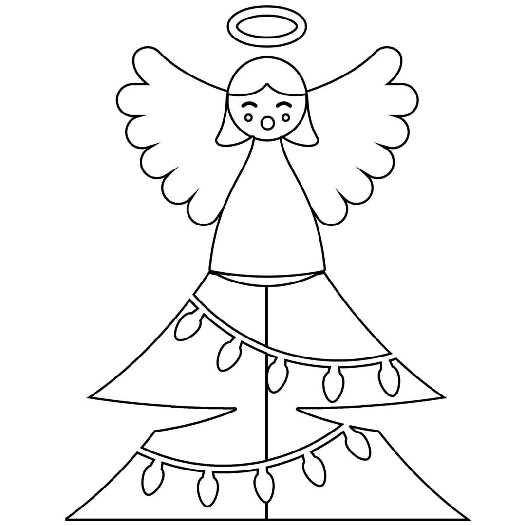 Lavoretti Di Natale Terza Elementare.Angioletti Di Natale Fatti A Mano La Guida E I Modelli Da Scaricare