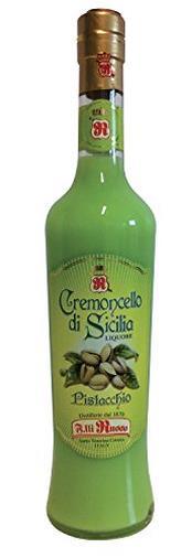 Liquore crema pistacchio di Sicilia