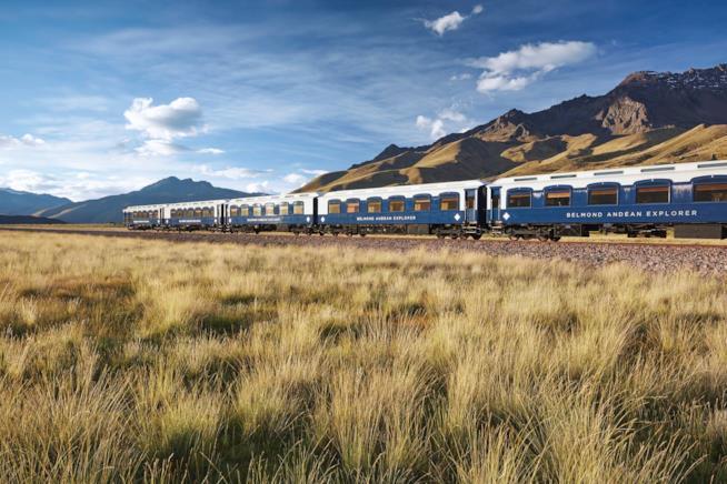 Viaggio in treno Andean Explorer in Perù