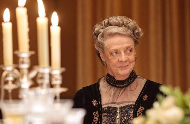 MAggie Smith è la Contessa di Downton Abbey