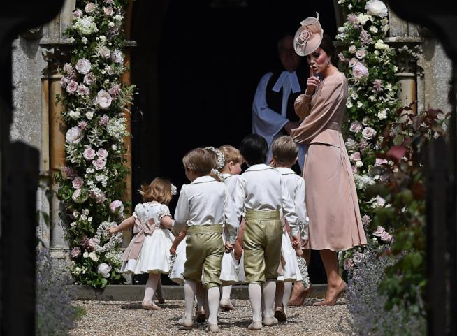 Kate Middleton rimprovera il Principino George