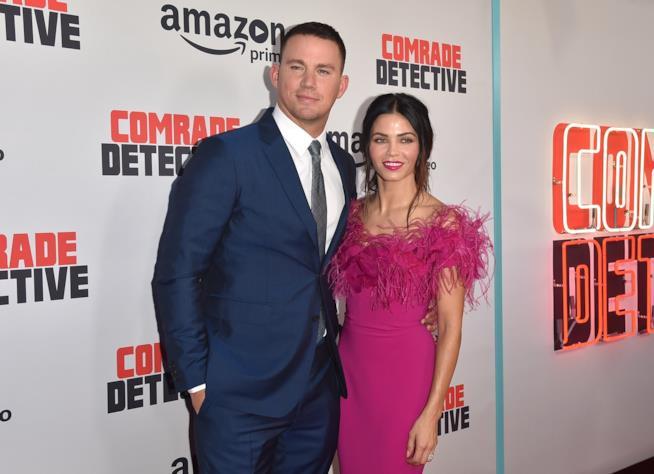 Channing Tatum con la moglie Jenna Dewan