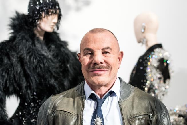 Lo stilista Thierry Mugler