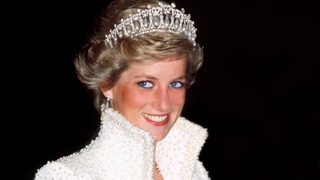 Uno splendido primo piano di Lady Diana