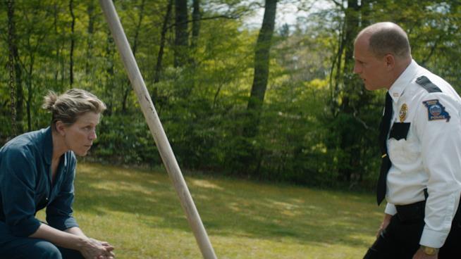 Frances McDormand e Woody Harrelson irresistibili in Tre manifesti a Ebbing, Missouri