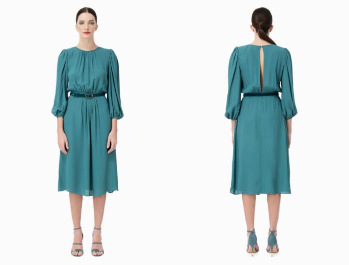 936c92e682fe Di moda il color petrolio  capi e accessori da donna per l inverno 2018